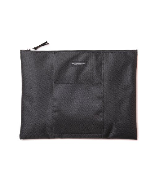 내셔널 퍼블리시티(NATIONAL PUBLICITY) PALA CLUTCH BLACK