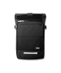 티레벨(T-LEVEL) Juven Roll Top Messenger Bag Black