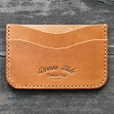 데몬하이드(DEMON HIDE) STANDARD CARD CASE (TAN)