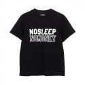 DEAFDOPES NHD NOSLEEP NOMONEY- BLACK