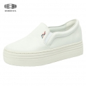 슈보니에타(SHOBONYATA) WHITE HIGH SIMPLE SLIPON SNEAKERS_S3061WH