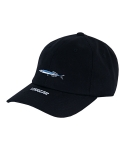 바잘(VARZAR) fish series 07 ball cap black