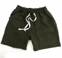bandingpocket pants (khaki)