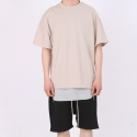 페이드6() OVER BOXY T-SHIRT BEIGE