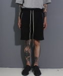 페이드6(FADE6) POCKET ZIPSHORTS BLACK