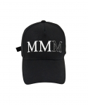 팔칠엠엠서울(87MM_SEOUL) MMM LOGO BALL CAP (BLACK)