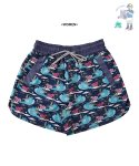 어썸 이미지네이션(AWESOME IMAGINATION) AWESOME DTP-ALOHA BEACH SHORTS Navy