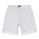 로맨틱크라운(ROMANTIC CROWN) [ROMANTICCROWN]STRIPE ROLLUP SHORTS_WHITE