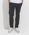 One Tuck Cotton Pants Navy