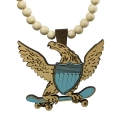 굿우드(GOODWOOD) GOODWOOD NYC SKATE EAGLE PENDANT NECKLACE [3]