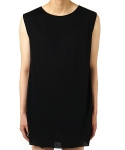 플레어업(FLAREUP) layered sleeveless BK (FL-107)
