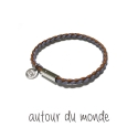 오뜨르 뒤 몽드(AUTOUR DU MONDE) MIX MEN BRACELET