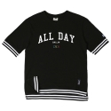 로맨틱크라운(ROMANTIC CROWN) [ROMANTICCROWN]ALLDAY PK 1/2 SHIRT_BLACK