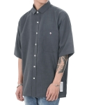 쟈니웨스트() CXL Summer Shirt (Asphalt Gray)