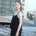 카무플라주 랩(CAMOUFLAGE LAB) LACE SLEEVELESS TOP_BK