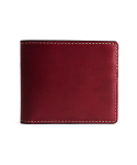 브로그앤머로우(BROGUE AND MORROW) Bifold Wallet (Burgundy)