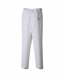 브라쉬(BRASHY) BRASHY / DELI AND SOCCER ARTWORK SWEATPANTS / WHITE