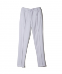 BRASHY / TRACKSUIT PANTS WITH PLEATS / WHITE