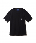 브라쉬(BRASHY) BRASHY / DELI AND SOCCER ARTWORK THE TEE / BLACK