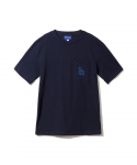 브라쉬(BRASHY) BRASHY / DELI AND SOCCER ARTWORK THE TEE / NAVY