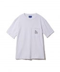BRASHY / DELI AND SOCCER ARTWORK THE TEE / WHITE