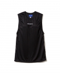 브라쉬(BRASHY) BRASHY / MONOGRAM EMBROIDERY SPORTY MUSCLE TEE / BLACK