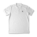 CROOKS & CASTLES  Knit S/S Polo - Infinity (White)