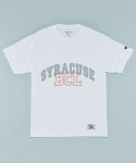 SYRACUSE T-SHIRTS WHITE