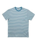 심플(SIMPLE) STRIPE T L.BLUE
