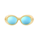 하이비션(HYBITION) Roswell Original Glossy Yellow / Blue Mirror Lens