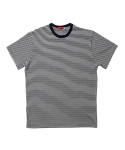 심플(SIMPLE) STRIPE T NAVY