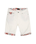 콰이트(QUITE) [콰이트] Flory Patched Shorts (PINK)