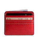 브로그앤머로우(BROGUE AND MORROW) Brogue Card Case (Red)