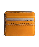 브로그앤머로우(BROGUE AND MORROW) Brogue Card Case (Yellow)