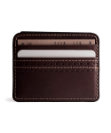 브로그앤머로우(BROGUE AND MORROW) Brogue Card Case (Brown)