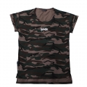 Camo loose t-shirt/brown