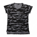 플라스틱(FLASTTIC) Camo loose t-shirt/gray