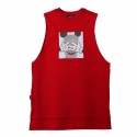 플라스틱(FLASTTIC) Mickey print sleeveless/red