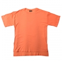 플라스틱(FLASTTIC) Box loose t-shirt/orange