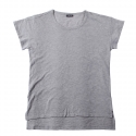 플라스틱(FLASTTIC) Basic t-shirt/gray