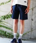 코드아이엠(CODE I'M) CLUB LOGO CHINO HALF PANTS NAVY