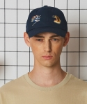 레이블디렉터(LABEL DIRECTOR) sukajan ball cap 2 (NAVY)