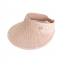 어썸니즈(AWESOME NEEDS) STRAW VISOR HAT_PINK