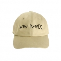 어썸니즈(AWESOME NEEDS) NEW NEEDS BALL CAP_CAMEL