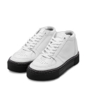T 202 High-Top Sneakers - White