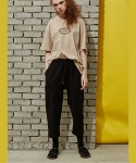 스컬프터(SCULPTOR) LINEN STLING PANTS[WH/BE/BK]