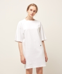 모한(MOHAN) [MOHAN] SQUARE NECK DRESS WHITE