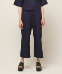모한(MOHAN) [MOHAN] WIDE - LEG TROUSERS NAVY