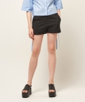 모한(MOHAN) [MOHAN] SIDE SLIT SHORT PANTS BLACK