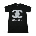 유에스에이 머친다이징(U.S.A MERCHANDISING) USAHMMERCHANDISING CANCEL PARIS (BLACK)